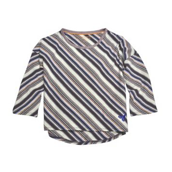 Baby Girl Burt's Bees Baby Organic Drop Shoulder Striped Tee