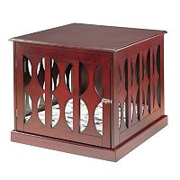 Elegant Home Fashions Emma Pet Crate