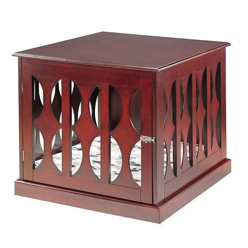 Elegant Home Fashions Emma Pet Crate