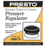 Presto Pressure Regulator Replacement