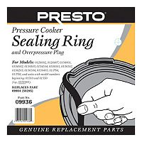 Presto Sealing Ring & Overpressure Plug Replacement 09936