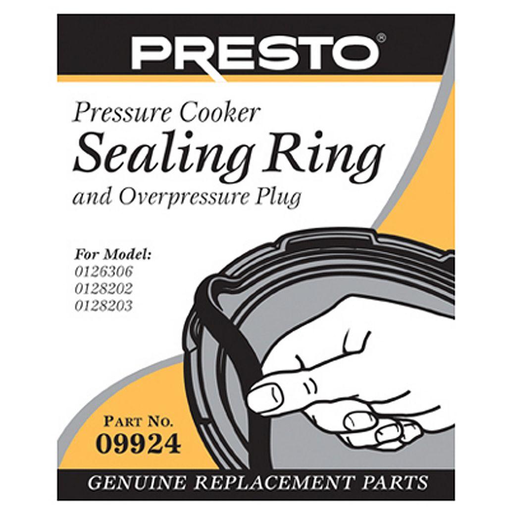 Presto Sealing Ring & Overpressure Plug Replacement 09924