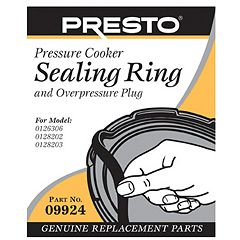 Presto Sealing Ring & Overpressure Plug Replacement 09924