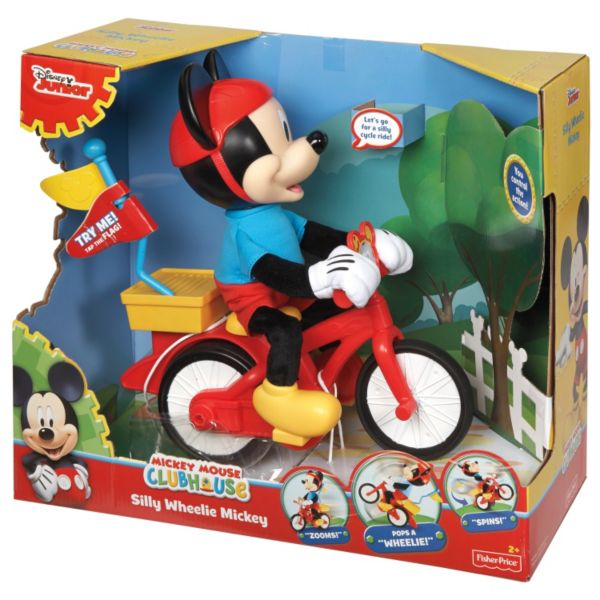 Disney S Mickey Mouse Clubhouse Silly Wheelie Mickey By