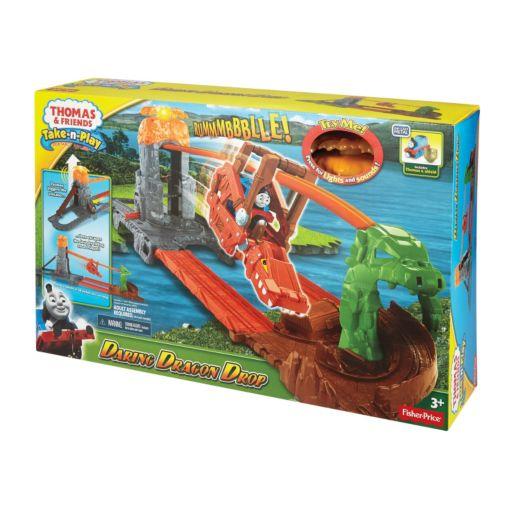 Fisher-Price Thomas & Friends Daring Dragon Drop Take-n-Play