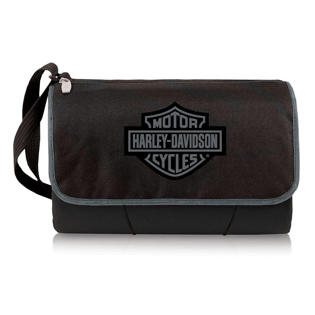 Picnic Time Harley-Davidson Picnic Blanket Tote