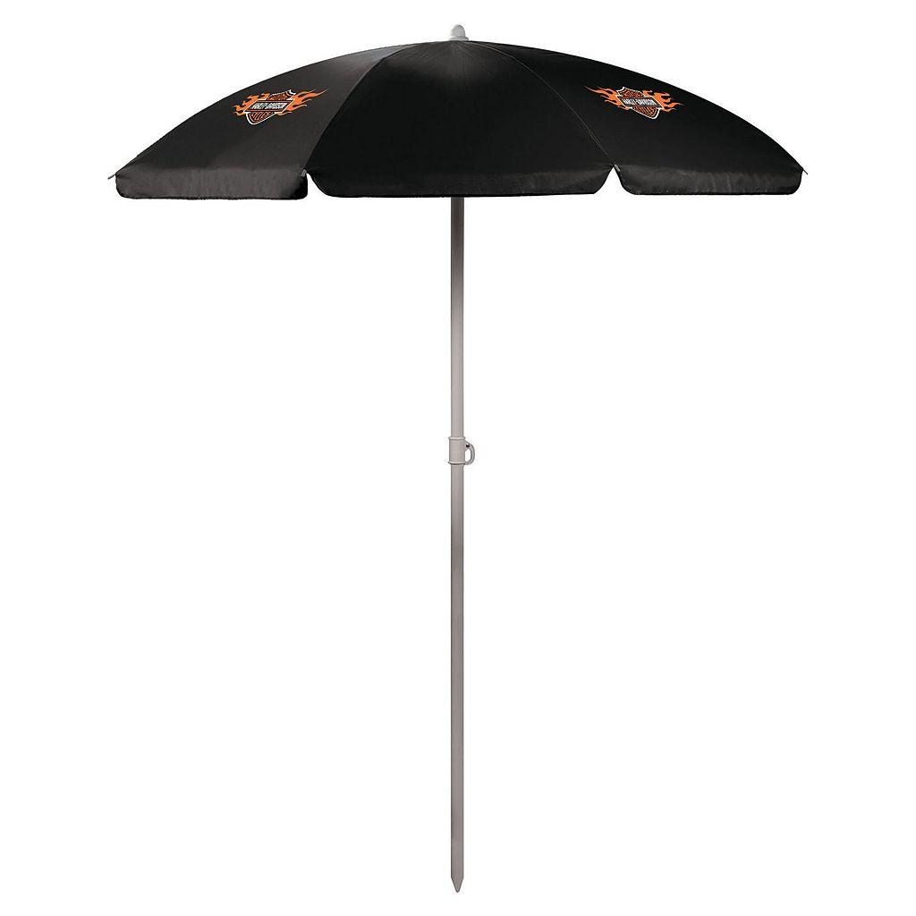 Picnic Time Harley-Davidson Portable Umbrella