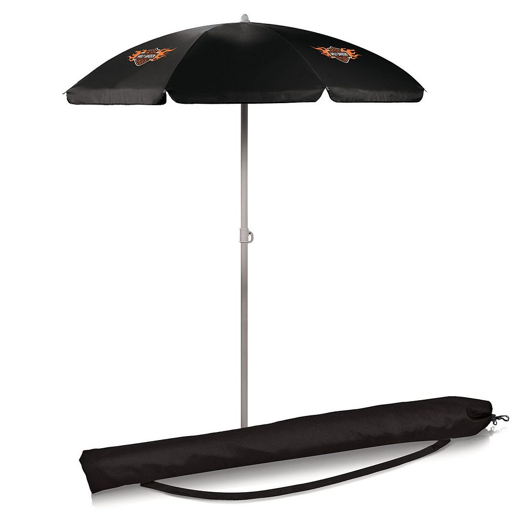 Picnic Time Harley-Davidson Portable Umbrella