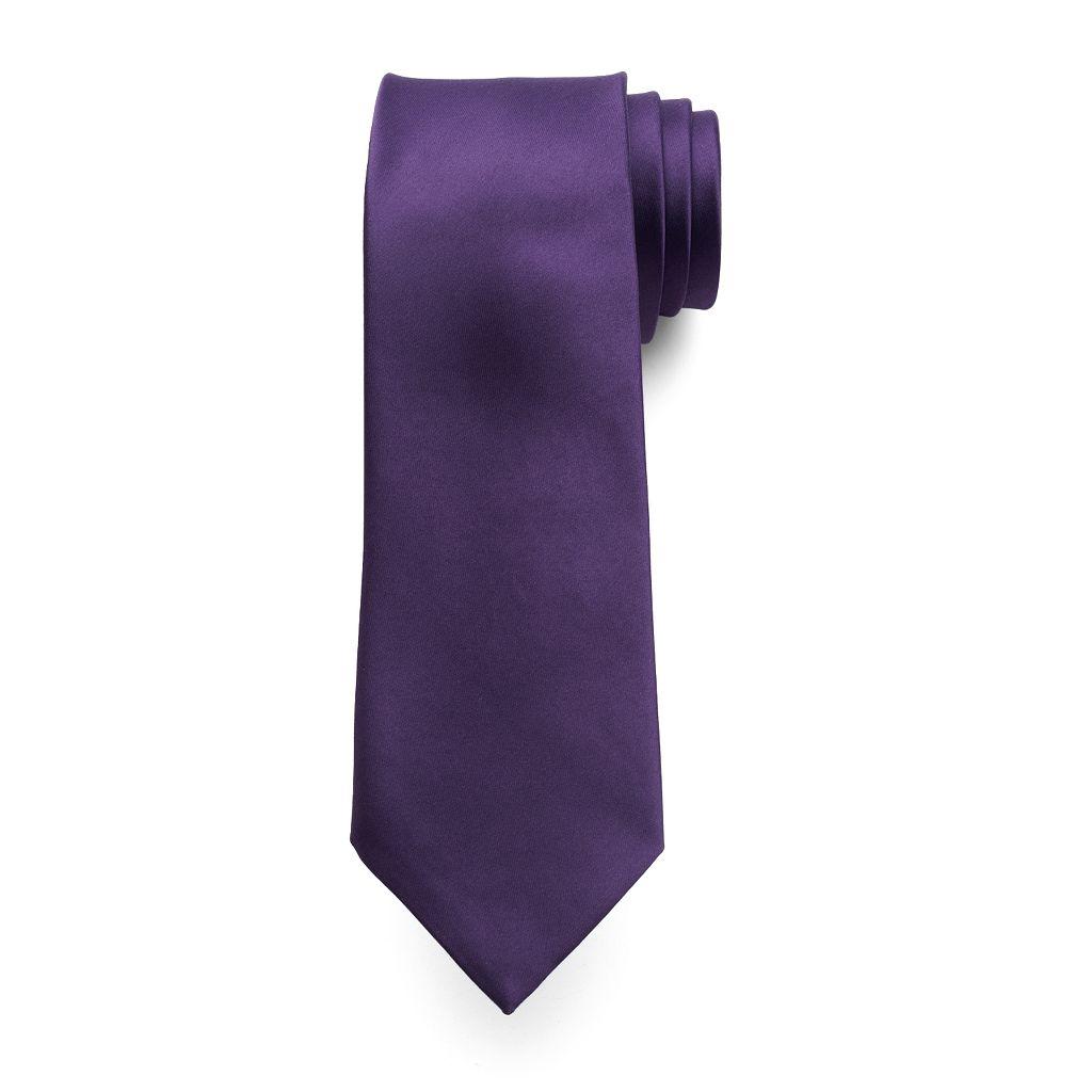 Marc Anthony Solid Satin Tie - Men