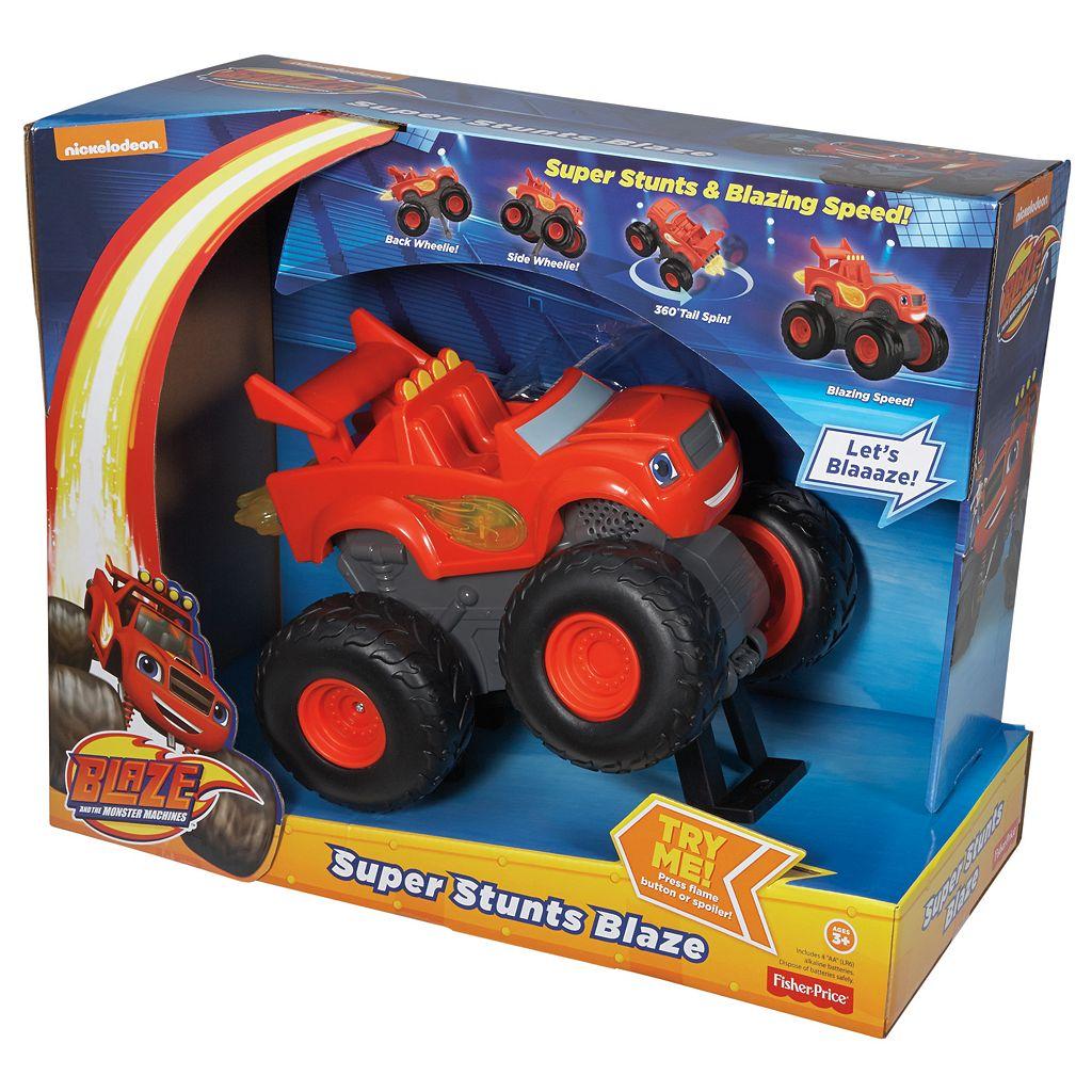 Blaze & the Monster Machines Super Stunts Blaze by Fisher-Price