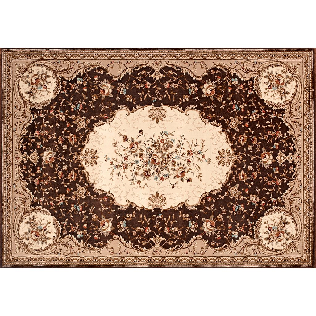 Manor House Savonnerie Floral Rug