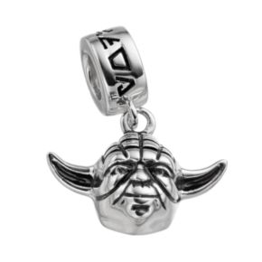 Star Wars Sterling Silver Yoda Charm