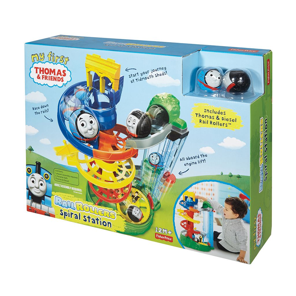 My First Thomas & Friends Rail Rollers Spiral Station by Fisher-Price