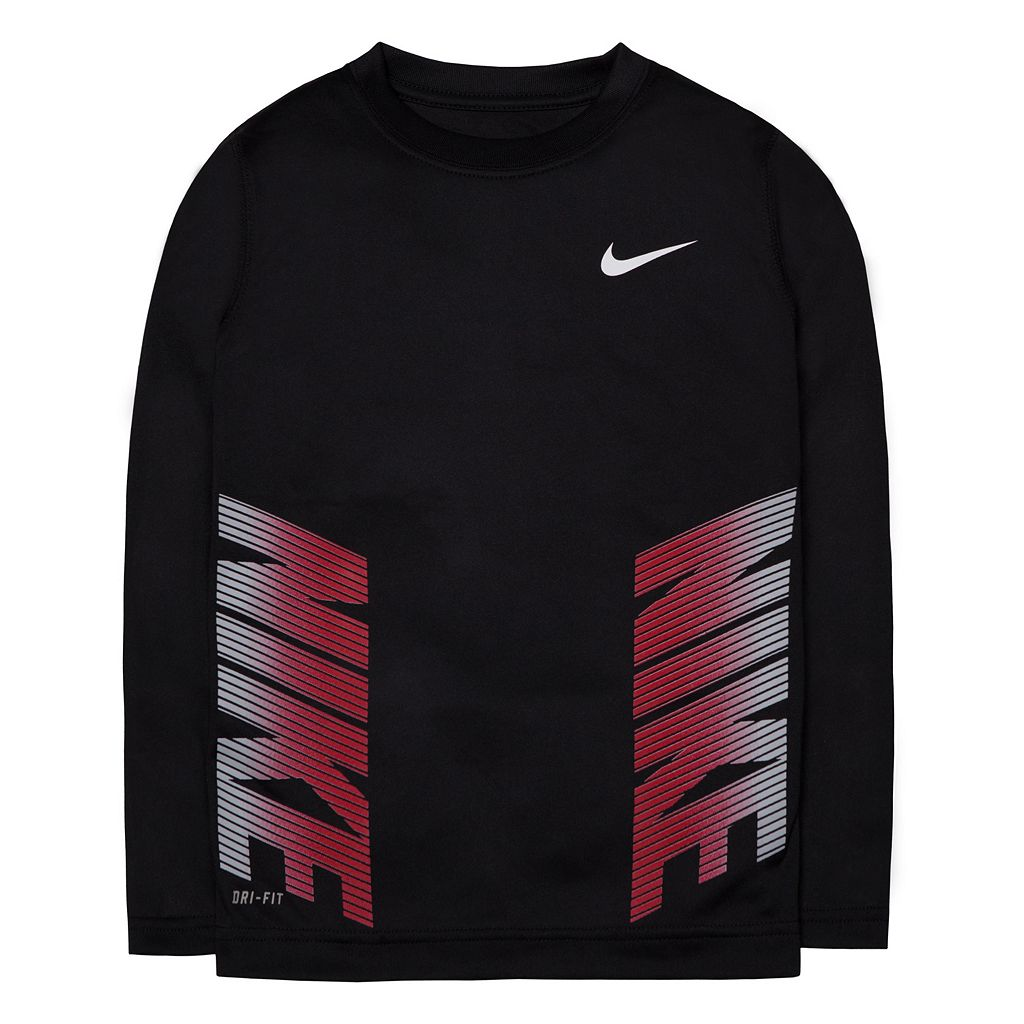 Boys 4-7 Nike Dri-FIT Side Logo Tee