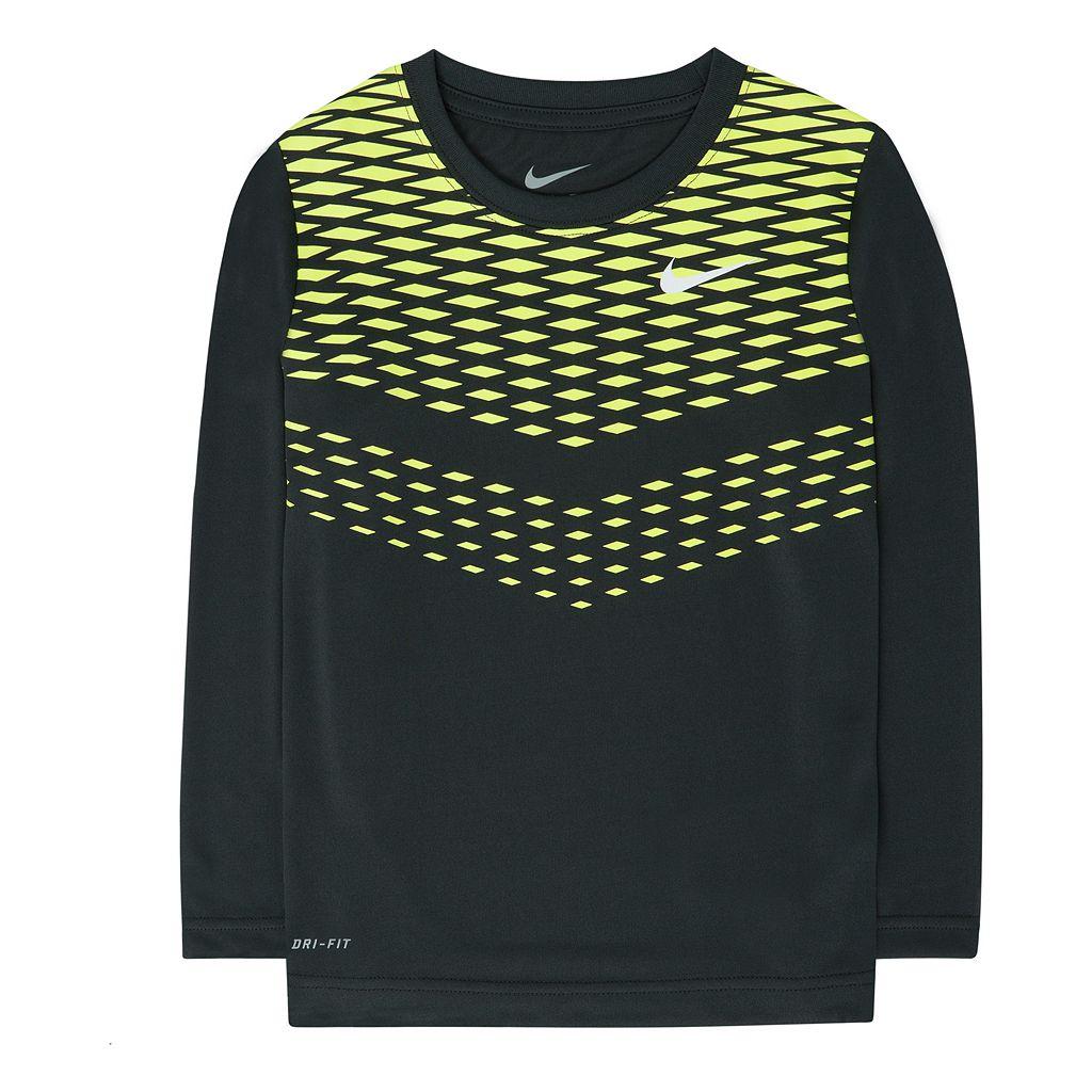Boys 4-7 Nike Dri-FIT Chainlink Tee