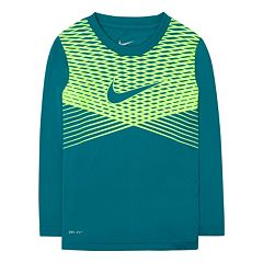 Boys 4-7 Nike Striped Dri-FIT Tee