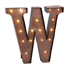LED Letter Wall Decor
