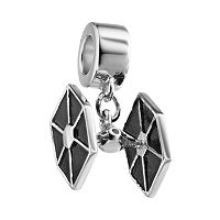 Star Wars Sterling Silver TIE Fighter Charm