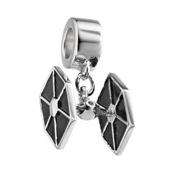 Star Wars Sterling Silver TIE Fighter Charm