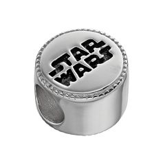 Star Wars Sterling Silver Logo Bead