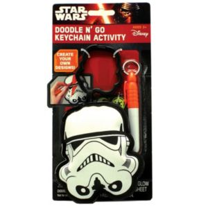 Star Wars: Episode VII The Force Awakens Doodle N' Go Stormtrooper Keychain Activity