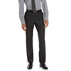 Men's Marc Anthony Slim-Fit Black Wool Suit Pants
