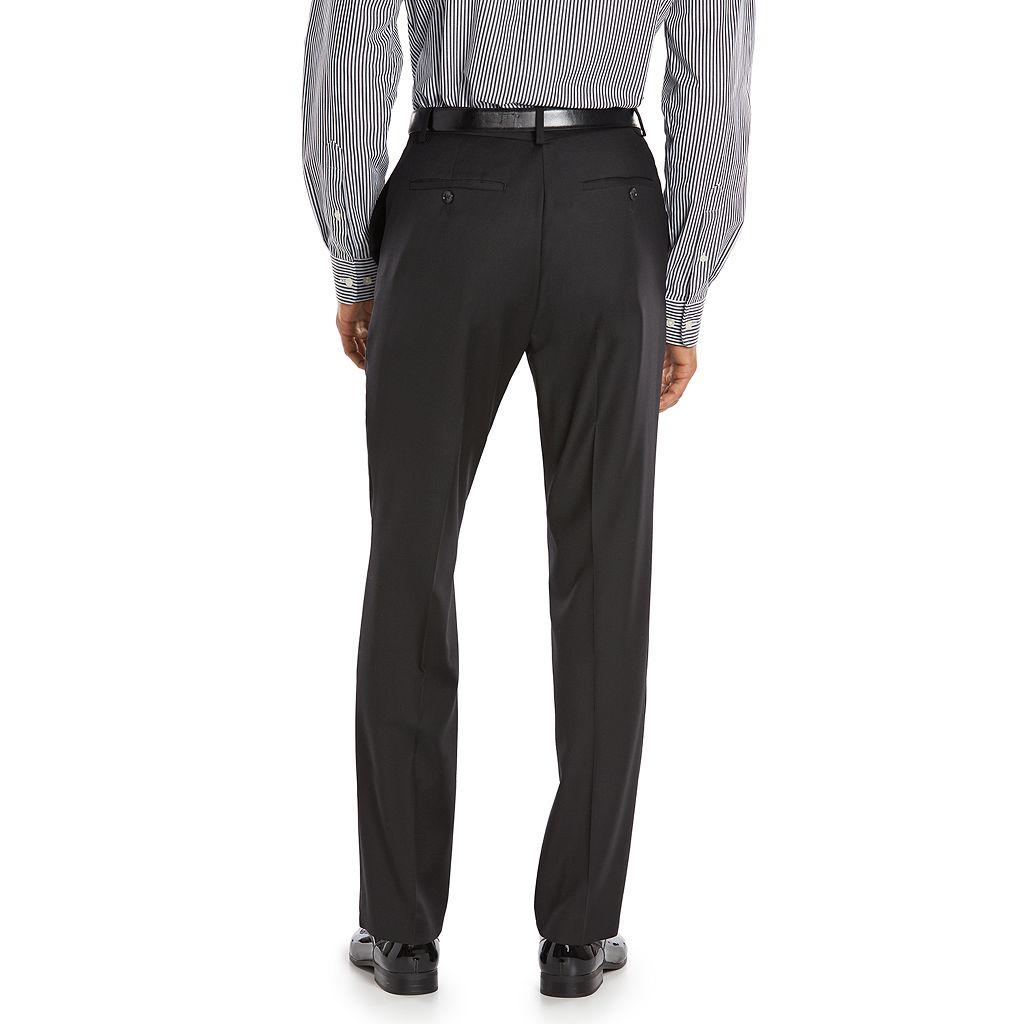 Men's Marc Anthony Slim-Fit Black Wool Suit Pants