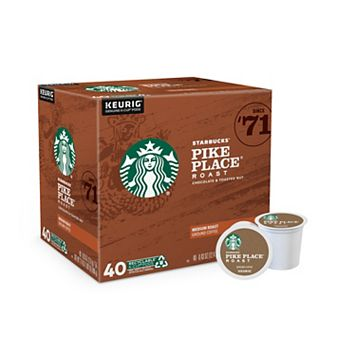 Keurig® K-Cup® Pod Starbucks Pike Place Roast Value Pack - 40-pk.