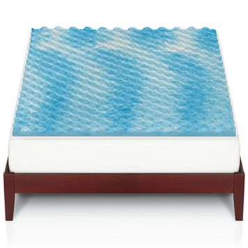 The Big One® Gel Memory Foam Mattress Topper
