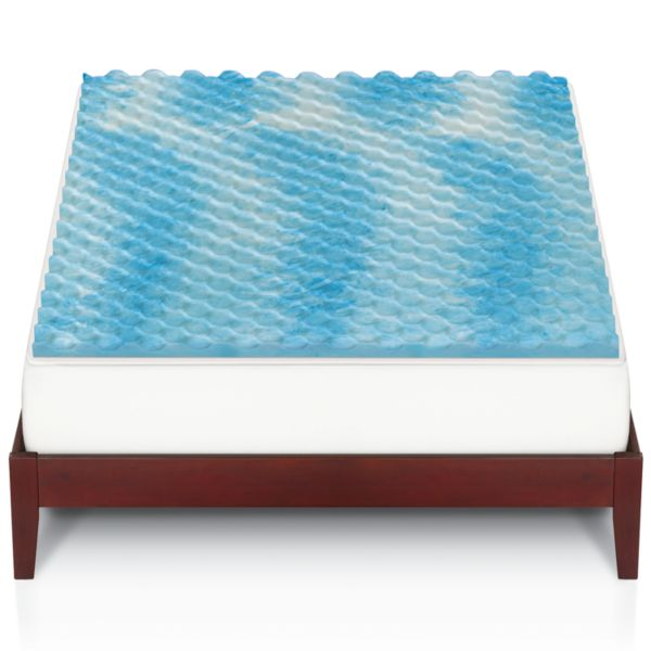 The Big e Gel Memory Foam Mattress Topper
