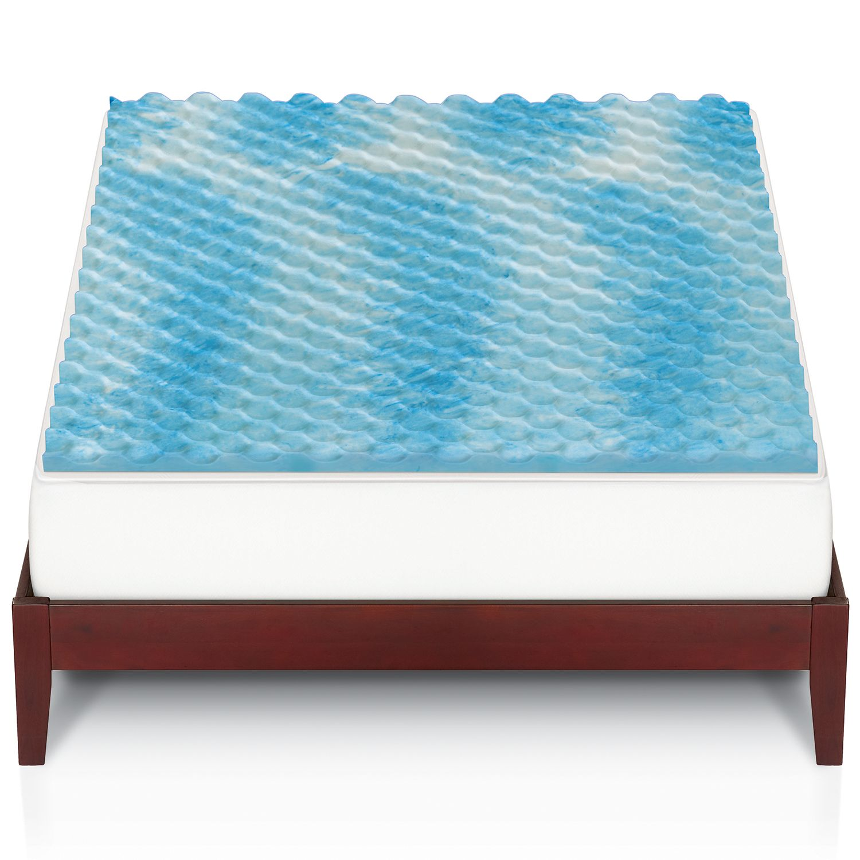 the big one gel memory foam mattress topper