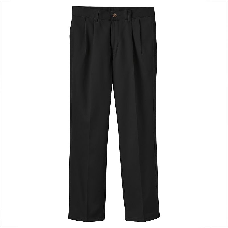Boys 8-20 Chaps School Uniform Pleated Twill Pants