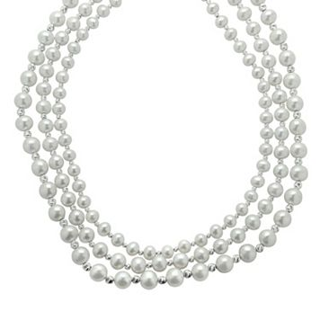PearLustre by Imperial Freshwater Cultured Pearl Multistrand Necklace