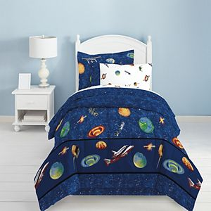 Dream Factory Outer Space Reversible Bed Set