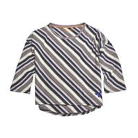 Toddler Girl Burt's Bees Baby Organic Drop Shoulder Striped Tee