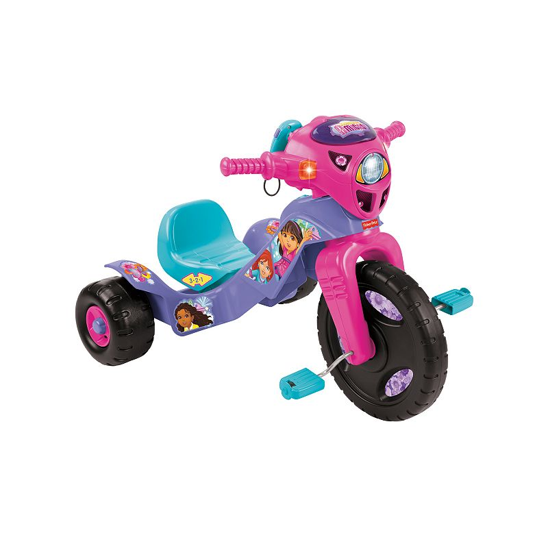 Nickelodeon Dora and Friends Lights & Sounds Trike by Fisher-Price ()