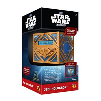 Star Wars Science Jedi Holocron by Uncle Milton