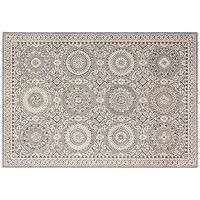 Kathy Ireland Villa Retreat Celestial Elegance English Medallion Rug