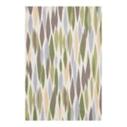 Waverly Sun N' Shade Abstract Geometric Indoor Outdoor Rug