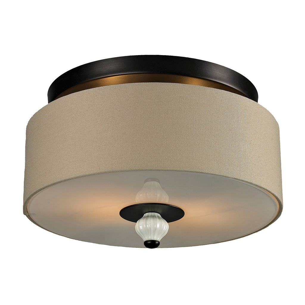 Elk Lighting Liliana 2 Light Flush Mount