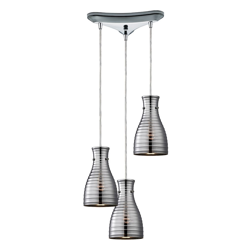 Elk Lighting Strata Cluster 3-Light Pendant