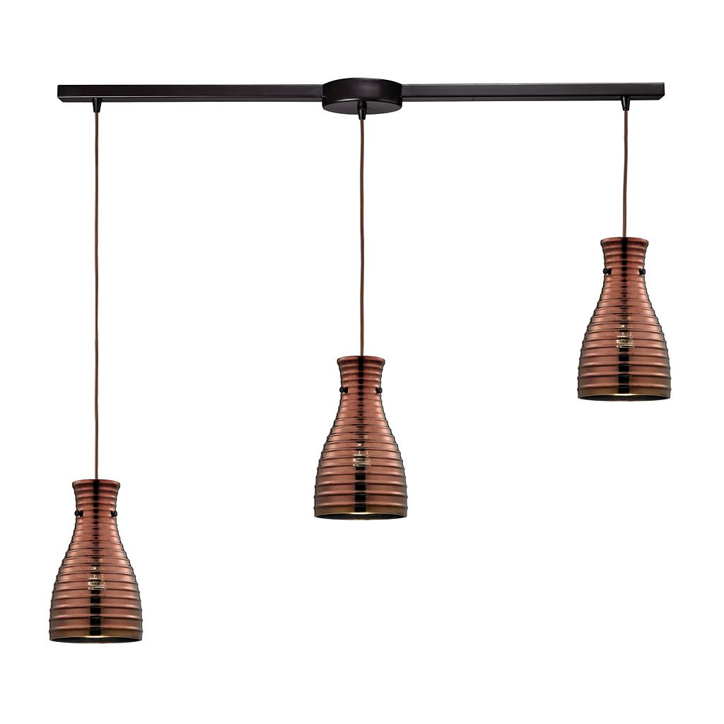 Elk Lighting Strata 3-Light Pendant