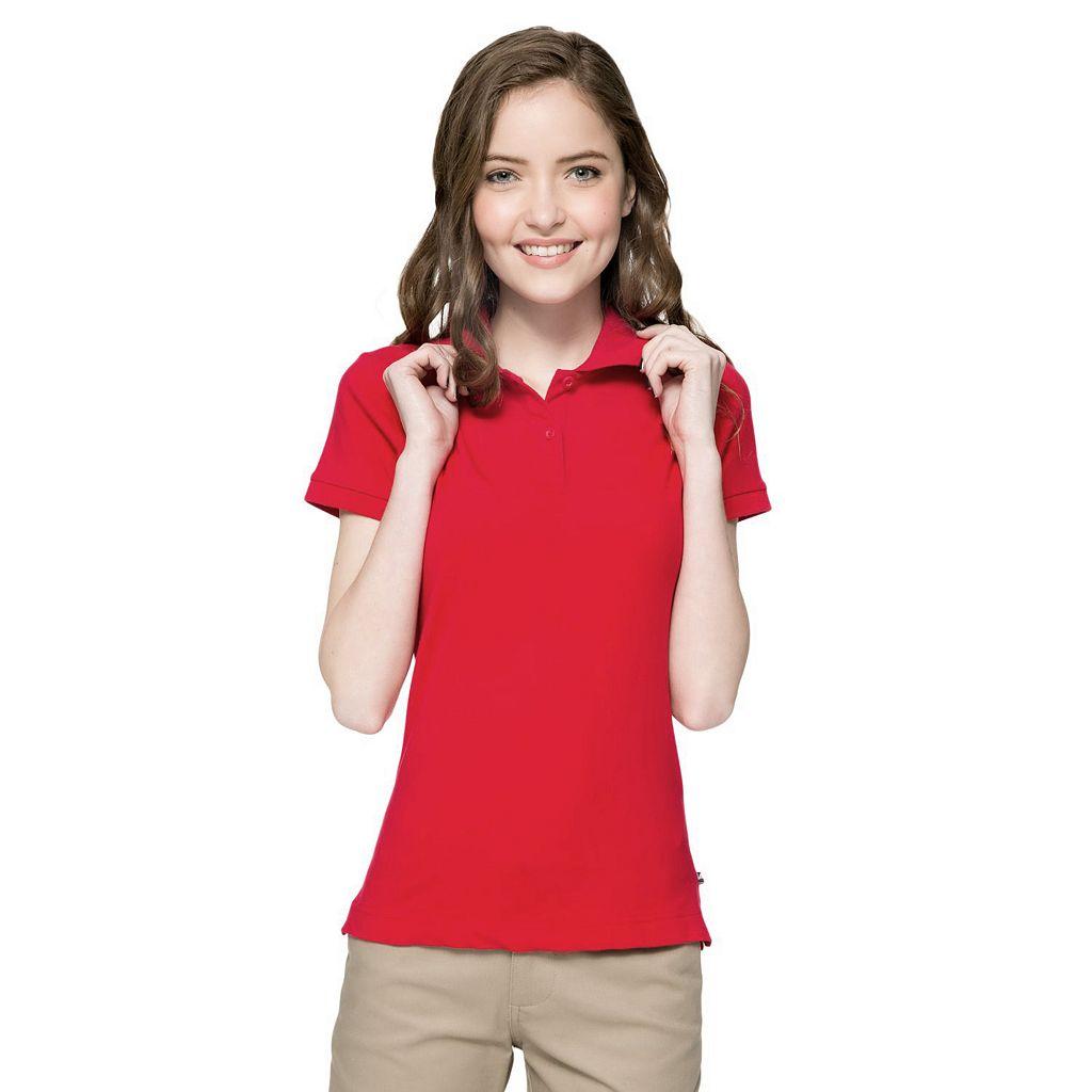Juniors' Lee Uniforms Stretch Polo