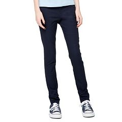 Juniors' Lee Uniforms Original Skinny Stretch Pants
