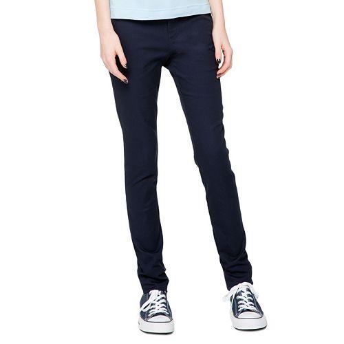 Juniors' Lee Uniforms Original Skinny Stretch Pants
