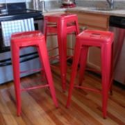 AmeriHome 4-piece Loft Metal Bar Stool Set