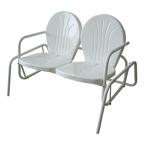 AmeriHome Double Seat Glider Chair