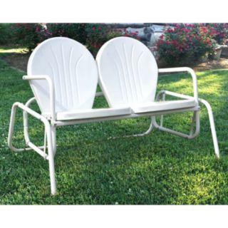 AmeriHome Double Seat Glider Chair
