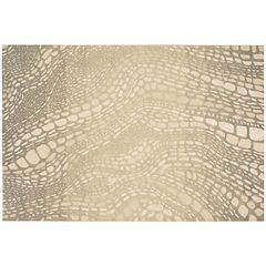 Kathy Ireland Palisades Snake Print Rug