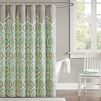 Madison Park Tara Fabric Shower Curtain